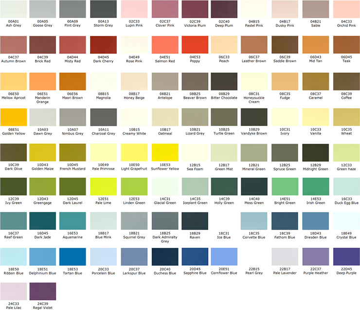 Colour Systems Part 2 British Standard Colours C P W
