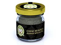 Jar of spiced tea.