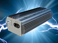 Electronic ballast for industrial light fittings.