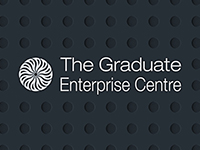 Graduate Enterprise Centre, inverted colours.