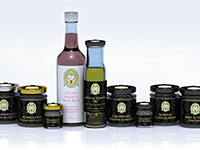 The full range of Jacobs Jams products.