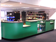 Completed Shop Counter