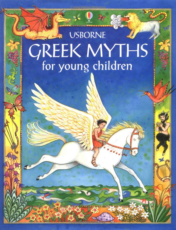 Usborne Greek Myths Review